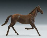 Equine sculpture - limited edition of 8 bronzes by equine sculptor Laury Dizengremel