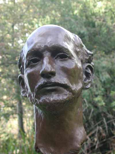 The Actor - bronze bust