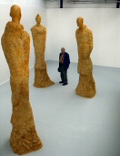 Monumental Artists of the Silk Road statues - click here for larger views